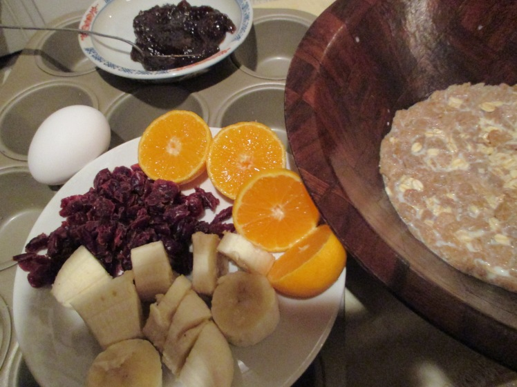 Fruity Bran Muffin Fixins