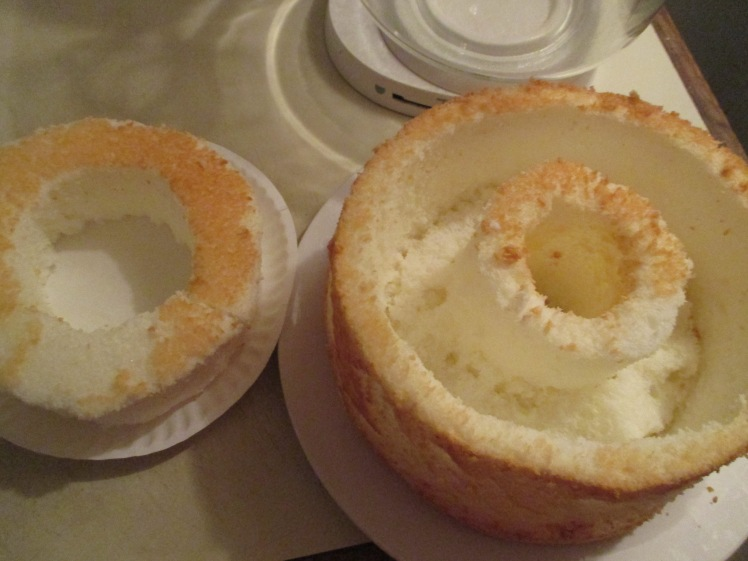 Well inside of cake