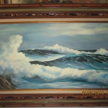 Enchanting Seascape by E. Parke