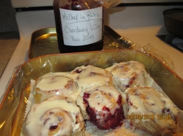juliyya's Cranberry Lolly Rolls