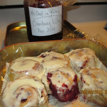 juliyya's Cranberry Lolly Rolls
